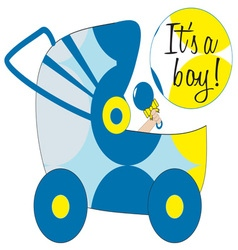 Its A Boy vector image