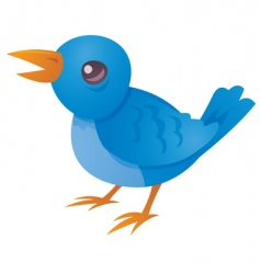 tweet vector image vector image