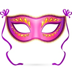 venitian carnival mask vector image vector image