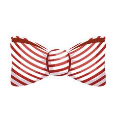 Vintage bow tie vector