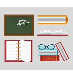 School traditional education vector