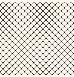 geometric seamless pattern with diagonal grid vector image vector image