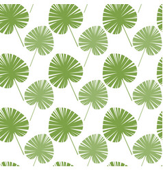 Green tree leaves seamless pattern abstract vector