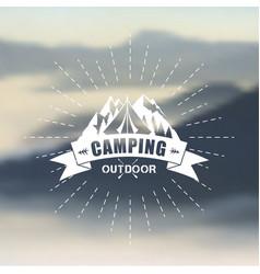 outdoor symbol vector image