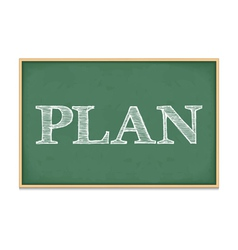 Plan vector image
