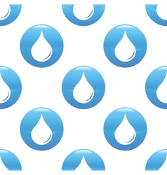 Waterdrop sign pattern vector