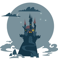 Old castle vector image