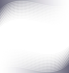 Background with halftone effect vector