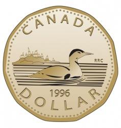 Canadian dollar vector