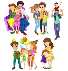 Different families vector