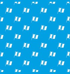 france flag pattern seamless blue vector image vector image