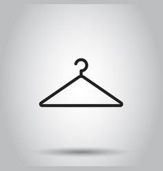 Hanger icon on isolated background business vector