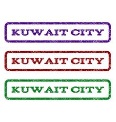 Kuwait city watermark stamp vector