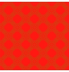 Seamless texture on red element for design vector