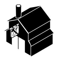 Smithy icon simple black style vector