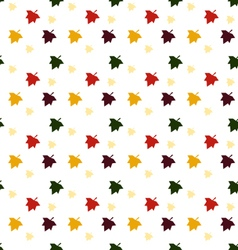 Maple leaf pattern vector