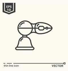 One icon - massage tool series vector