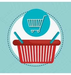 Shopping cart buy vector