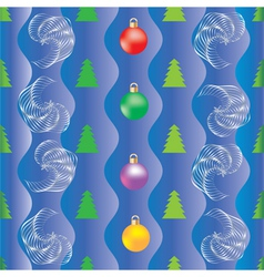 Background christmas wrapping paper vector