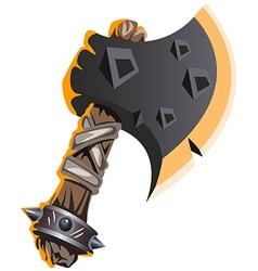 Iron axe vector