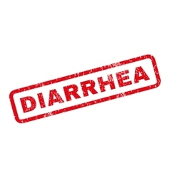 Diarrhea Rubber Stamp vector image