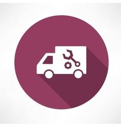 repair car icon vector image vector image