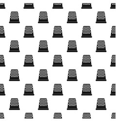 Thimble pattern vector