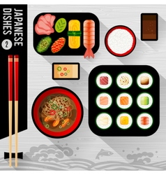Food japanese food vector