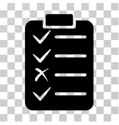 task list icon vector image