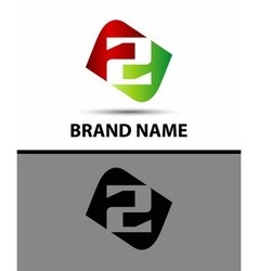 Number 2 logo vector