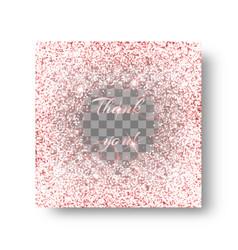 glitzy pink background vector image vector image
