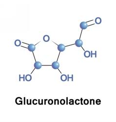 Glucuronolactone structural connective tissue vector