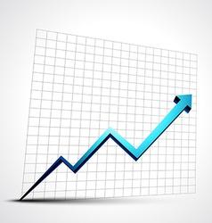 Growth progress arrow vector