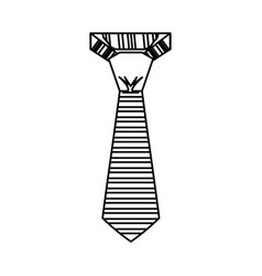 male executive tie vector image