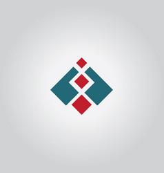 Square level logo vector