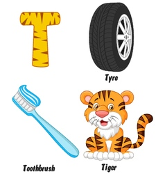 T alphabet vector