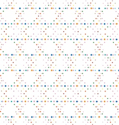 Abstract geometric polka dot seamless pattern vector
