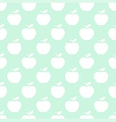 apple light seamless pattern background vector image