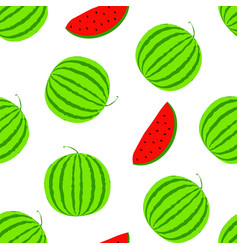 Summer positive seamless background with vector