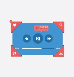 Music player 16 vector