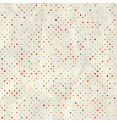 Aged and worn paper with polka dots eps 8 vector