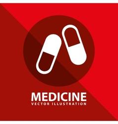 Medicine icon vector