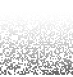 abstract background with randomly missed squares vector image