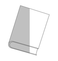 closed book icon image vector image vector image