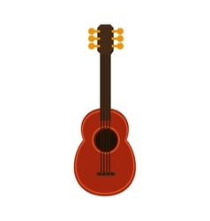ukelele guitar music hawaiian vector image