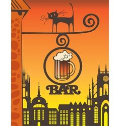 Beer bar vector