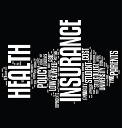 Find low cost student health insurance you can vector