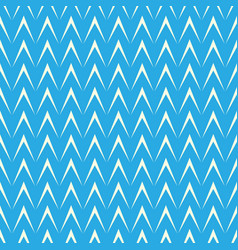 Geometric herringbone on blue background vector