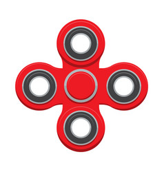 Spinner new popular anti-stress toy vector