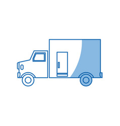 Truck vehicle transport delivery image vector